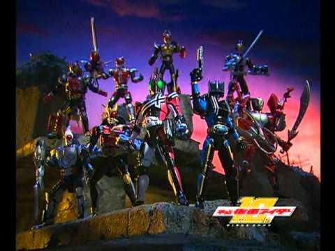 Kamen Rider Decade DX Toys Bandai TVCM