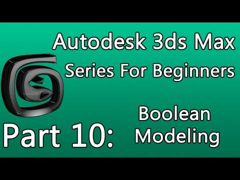3DS Max Modeling Tutorial Part 11 - Airplane Lockheed P-38 Lightning