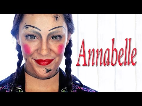 Tutorial maquillaje Halloween Annabelle   Silvia Quiros