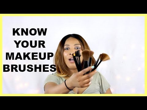KNOW YOUR MAKEUP BRUSHES FOR BEGINNERS, HOW TO USE YOUR MAKEUP BRUSHES Khichi Beauty