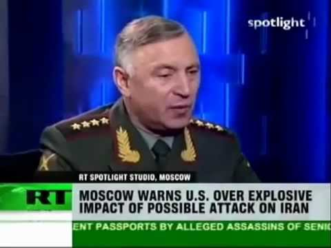 RUSSIA WARNS THE US NOT TO ATTACK IRAN OR IT WILL TRIGGER WW3 (1/4/2012)
