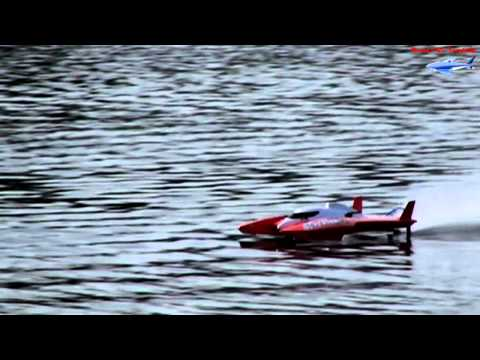 UL-1 Superior VS. Traxxas Spartan and some highlight clips from RC Boat Day