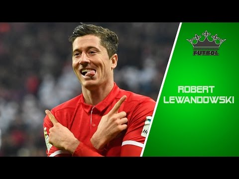 Robert Lewandowski Najlepszy Napastnik z Europy  ᴴᴰ