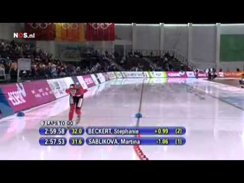 Martina Sablikova 5K world record race Salt Lake City 2011.mp4