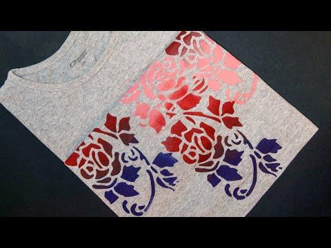 Как сделать узор на ткани своими руками 25