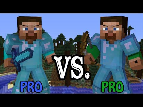 Pro VS. Pro - Minecraft