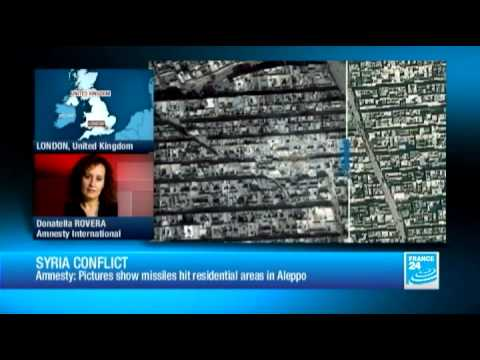 Syria conflict: satellite images unveil missiles hit residential areas in Aleppo