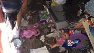 Family living in condemned home found out of state