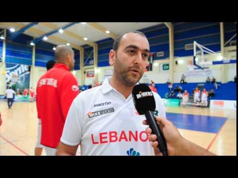 Maroun Gebrayel Post Game Interview Lebanon vs Jordan