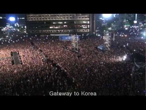 Psy Gangnam Style 싸이 강남 스타일 Seoul City Hall Concert Korea For Fan video