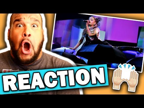 Ariana Grande - No Tears Left To Cry (Billboard Music Awards 2018 Performance) REACTION