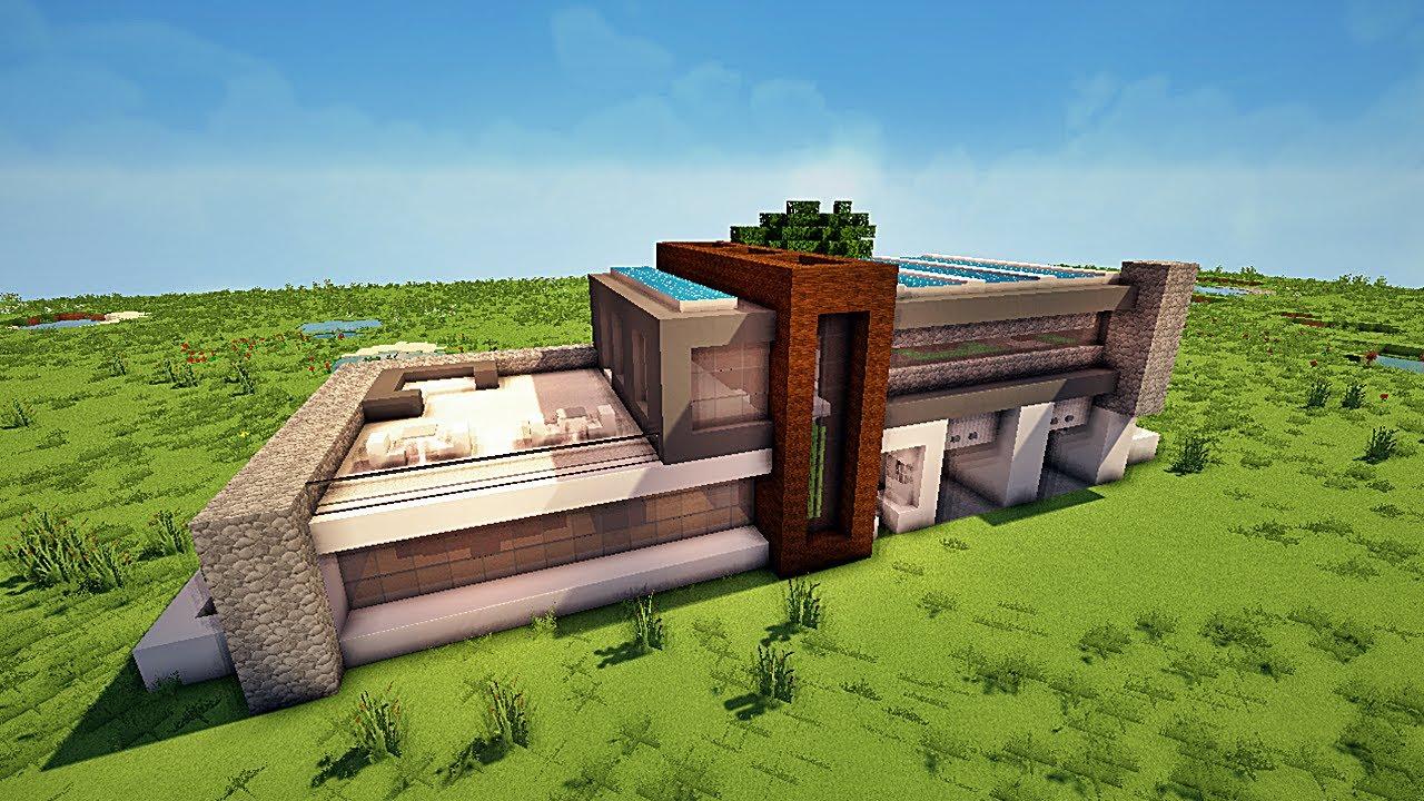 - Maison modern minecraft ...
