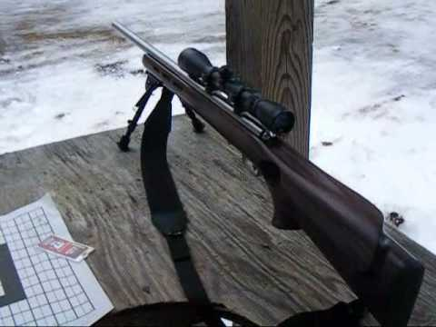 RIfle Shooting TACK DRIVER sniper rifle.17HMR.wmv