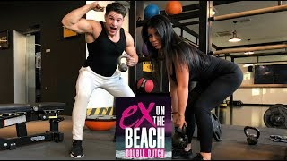 DJESSY OVER EX ON THE BEACH || BILLEN TRAINING MET SAM HOOGLAND || B🍑TYCALL #7🏆