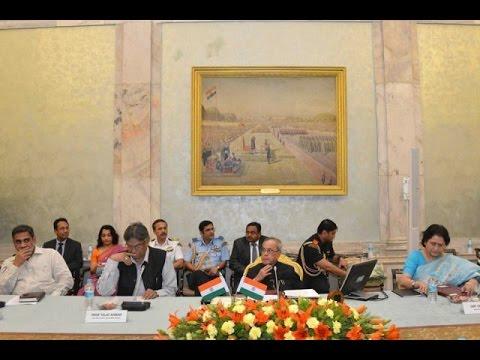 SlideShowHon'blePresidentOfIndia-Interacting-Called@RPBhavan-thanking..