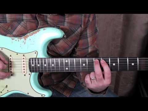Guitar Lessons - Soloing - Scales Modes - Jerry Garcia Style Guitar Lesson Fender Strat