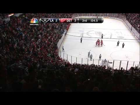 2/10/13: Jonathan Ericsson scores in final seconds for Red Wings win