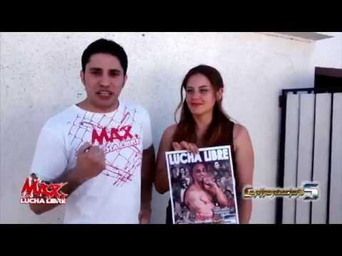 Max Lucha Libre - Diego Plaza e Illyria invitan a CONFRONTACION 5