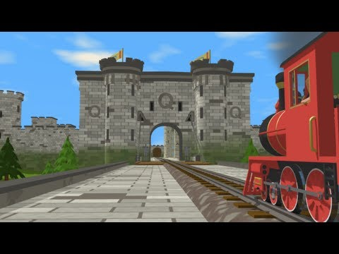 Shawn The Train Is On A Quest To Find The Letter Q In The Queen's Castle! video