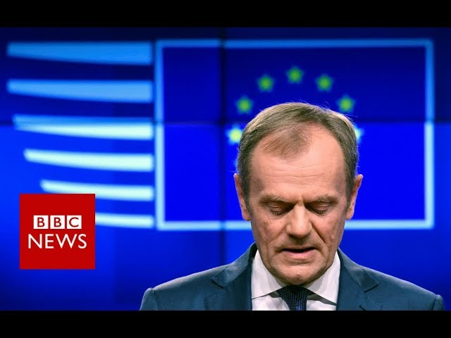 Tusk : Short Brexit extension 'possible'- BBC News