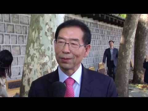 Park Won-soon, Mayor of Seoul, South Korea talks about tourism to the city - Unravel Travel TV