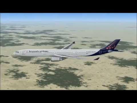 A330-300 BRUSSELS AIRLINES BRUSSELS - CONAKRY