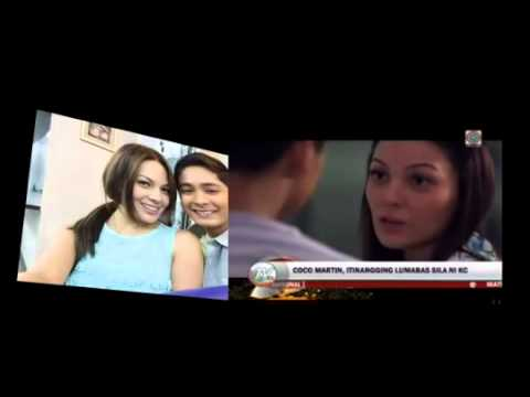 Coco Martin talks about  KC Concepcion
