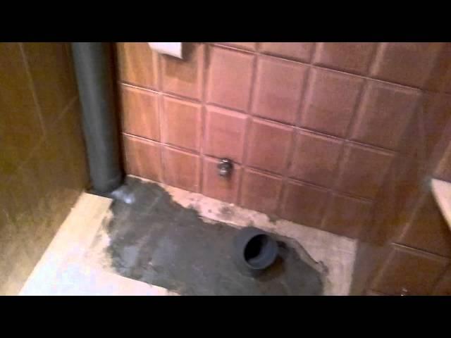 Como  preparar  tomas de agua y desagüe para nuevo baño