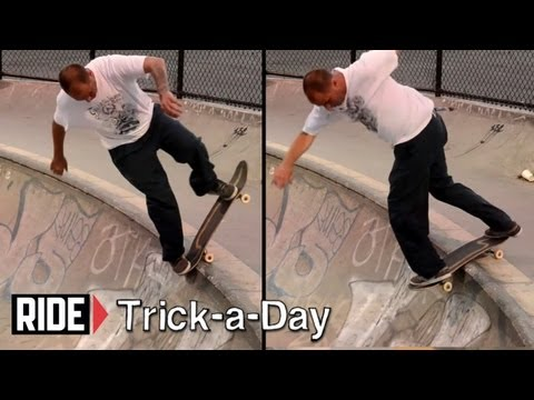 How-To Blunt Backside Disaster With Chris Senn - Trick-a-Day