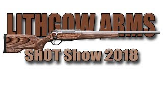 News from Lithgow Arms - LA105 Woomera -  LA102 Crossover for hunting - Shot Show 2018