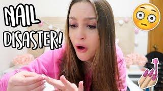 My Experience at the Nail Salon... Sydney Serena Vlogs