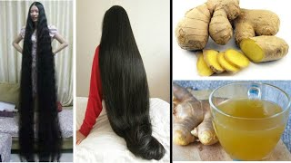 Ginger for Extreme Hair Growth, Stop Hair Loss / How to Grow Long and Thicken Ha
