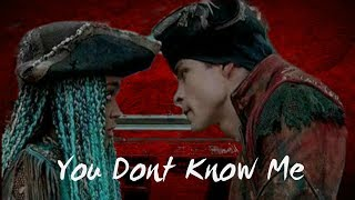 Harry and Uma - You Dont Know Me {Descendants 2}