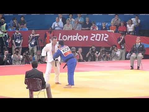 Olympic Judo London 2012 -81kg Final - Kim KOR bt Bischof GER