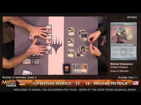 Pro Tour Born of the Gods - Modern Rd. 13 - Jared Boettcher vs. Frank Karsten