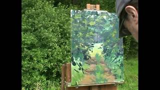 Christian Arnould - demonstration plein air Oil Painting 04