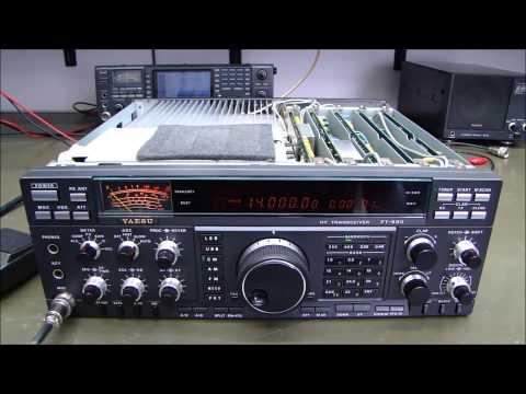 ALPHA TELECOM: YAESU FT-990 INSTALAÇÃO DE OPCIONAIS e MEGA REVISÃO