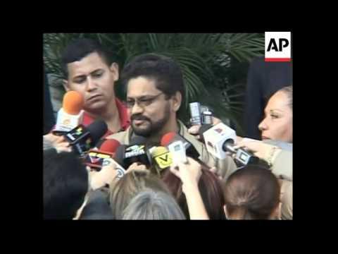 Chavez and Colombian senator on latest hostage talks