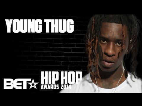 Young Thug Talks 2014 BET Hip-Hop Award Nominations & Rich Homie Quan Sneaks Up