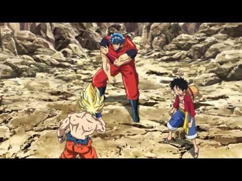 Luffy x Toriko x Goku VS Big Toro VOSTFR