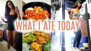 WHAT I EAT IN A DAY: GAIN WEIGHT | Full Day Of Eating • Lawenwoss