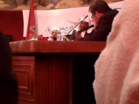 محاضرة للشيخ محمد علي الشنقيطي والشيخ سليمان بن عبد العزيز الجبيلان بمقر بلدية تطوان