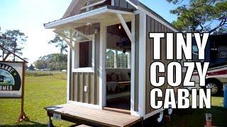 Tiny Cabin on Wheels - Only $15K Tiny Home | THOW Free Range Homes