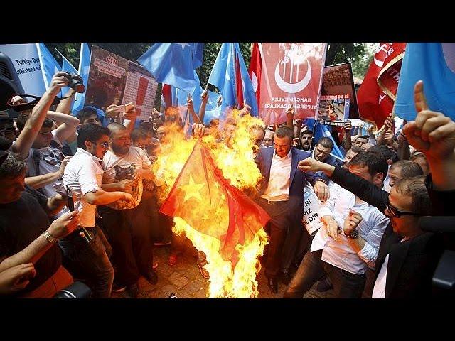 Turquie : manifestations anti-Pékin en soutien aux Ouïghours