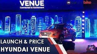 Hyundai Venue: Launch and Price | NDTV carandbike
