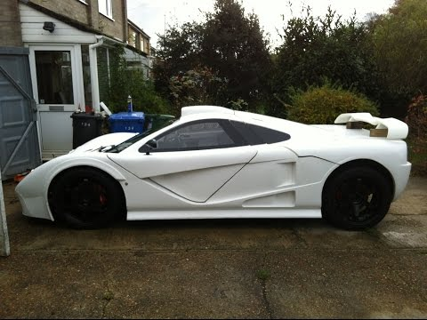 Kit Car build: DDR Motorsport GT ( Mclaren F1 replica style ) pre bodyshop review