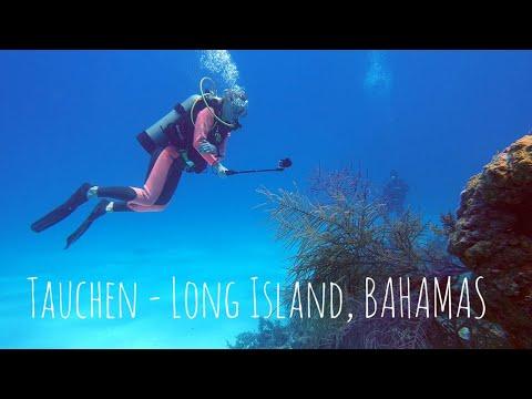 Tauchen auf Long Island (Bahamas)