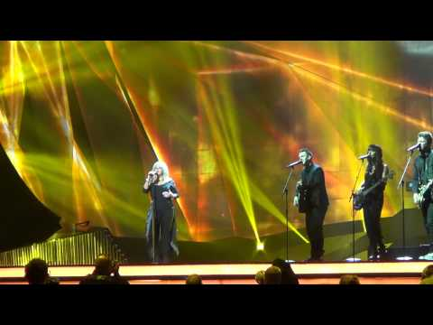 ESCKAZ live in Malm:First dress rehearsal Final United kingdom Bonnie Tyler Believe in Me