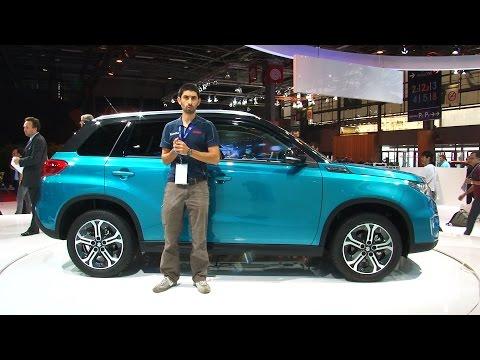 Suzuki Vitara al Salone di Parigi 2014
