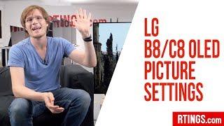 LG B8/C8 OLED Picture Settings – RTINGS.com